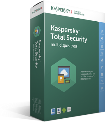 Kaspersky total security 2017 (3 dispositivos 1 ano)