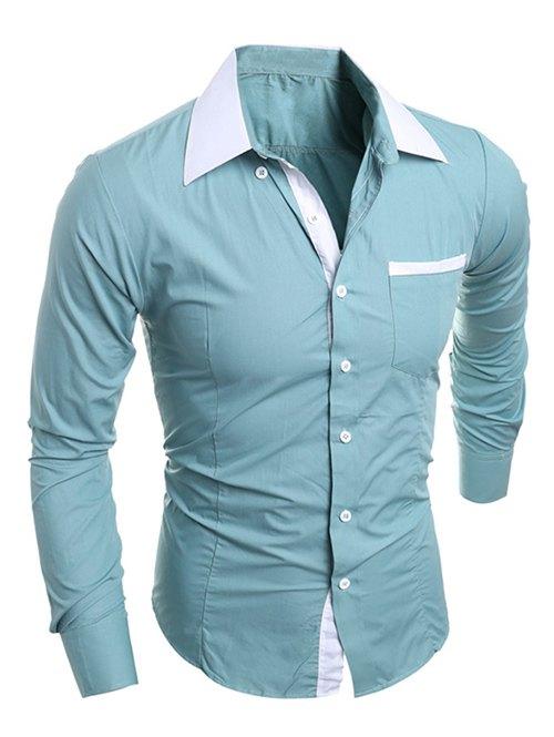 Camisa masculina verde sammy