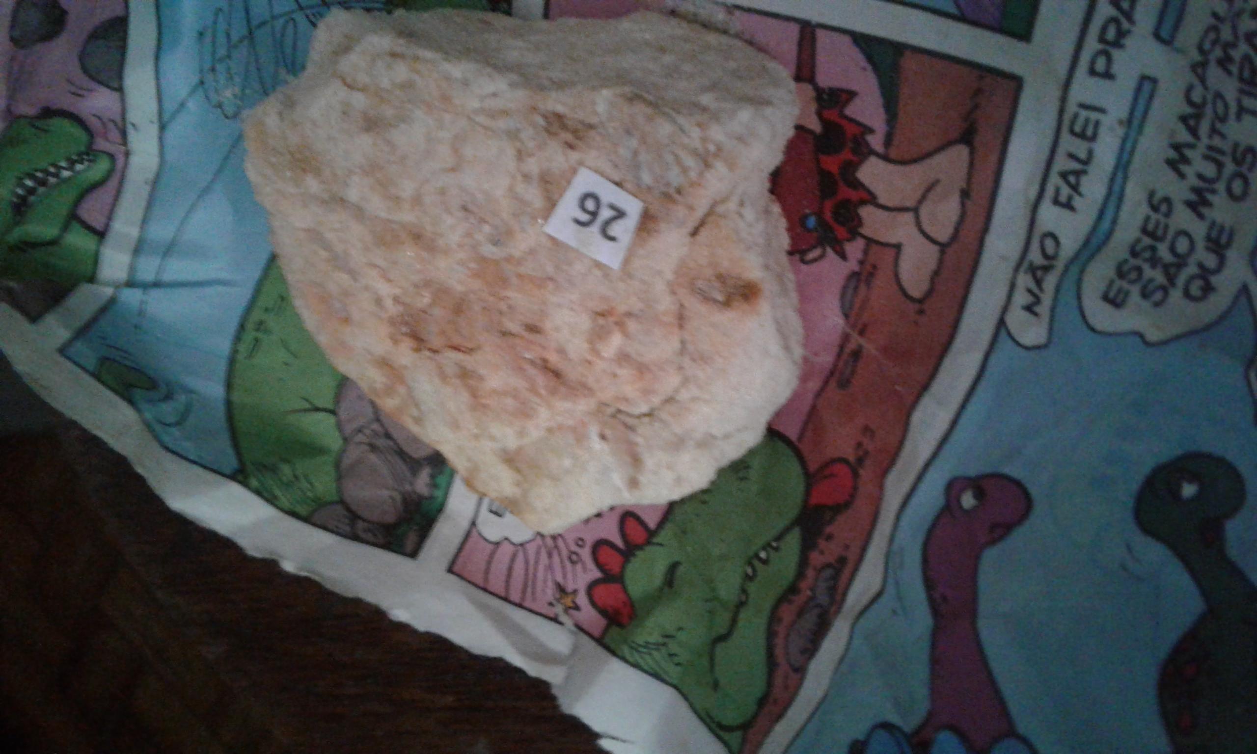 Muscovita na matriz de quartzito